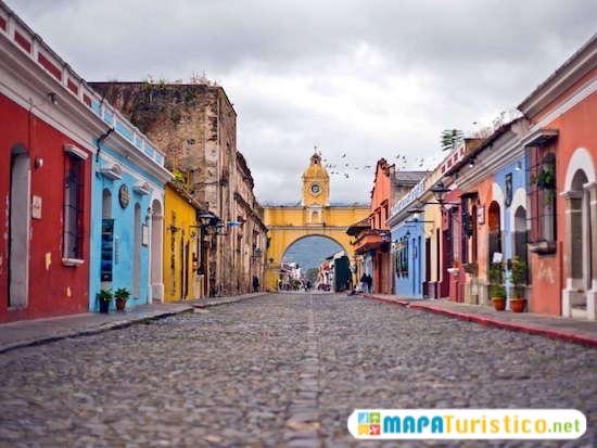 guia turistica frontera con guatemala
