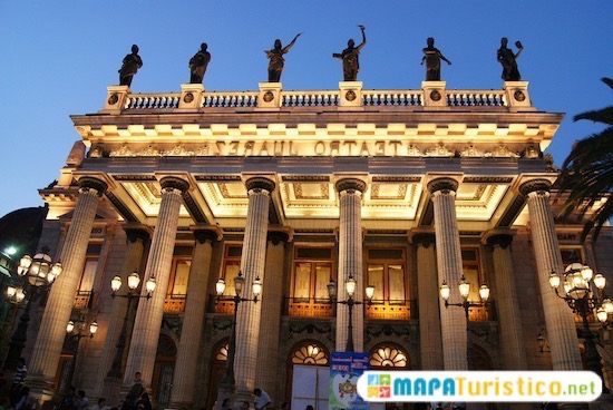 teatro juarez de guanajuato 1
