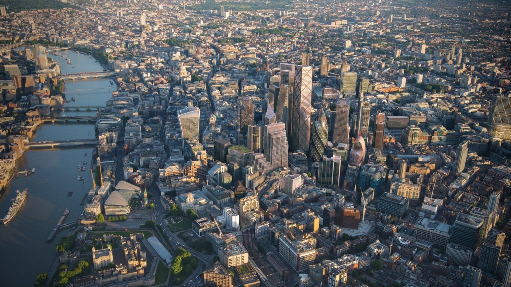 -mapa turístico Londres-