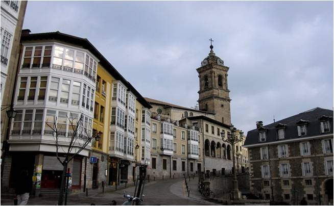 casco antiguo de Vitoria