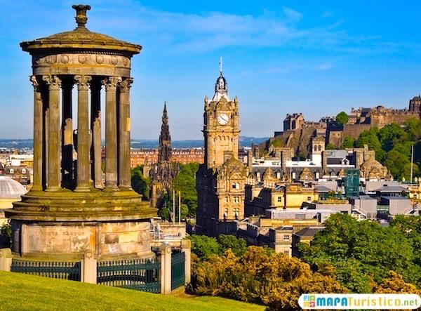 Edimburgo vista aerea