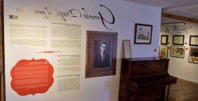 Gerardo Diego en Casa de los Poetas de Soria