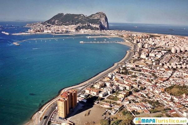 Mapa Turístico Gibraltar