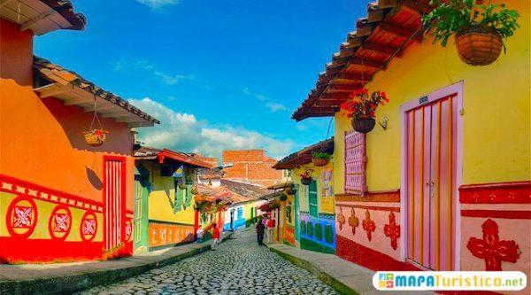 Mapa Turístico de Antioquia
