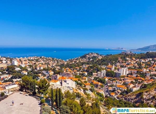 Mapa Turístico de Marsella