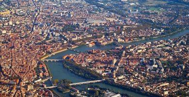 Mapa Turístico de Toulouse