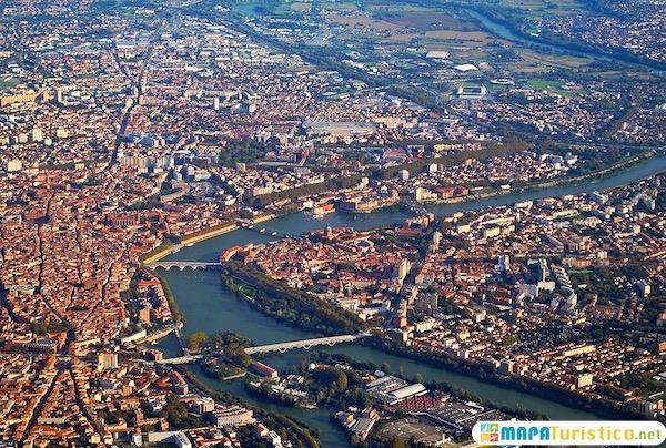 Mapa Turistico De Toulouse.Mapa Turistico Toulouse En 2020