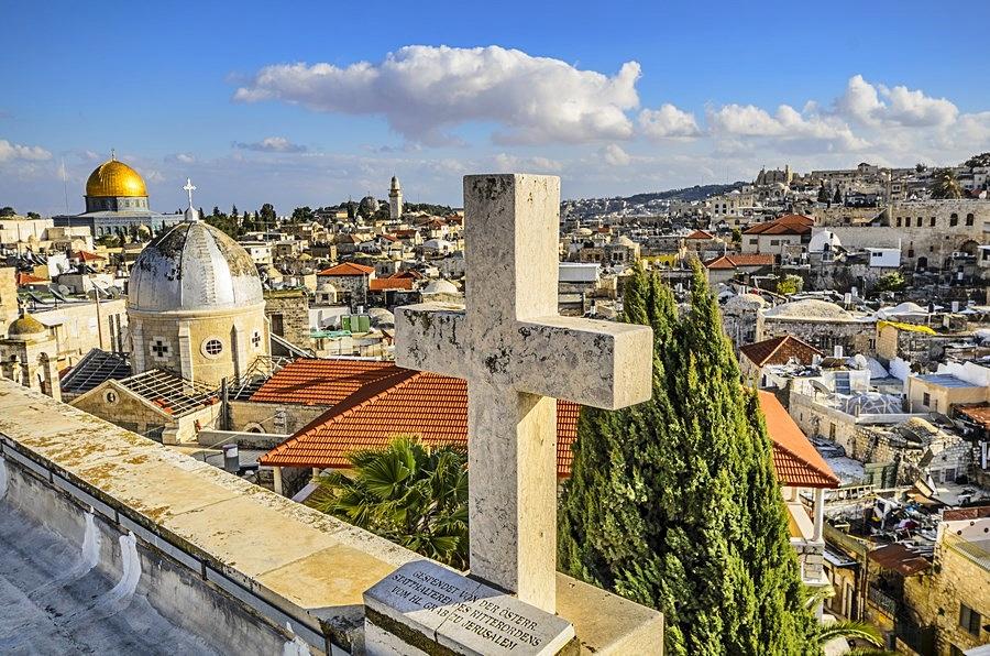 Mapa Turistico Israel