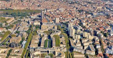 Mapa Turistico Montpellier