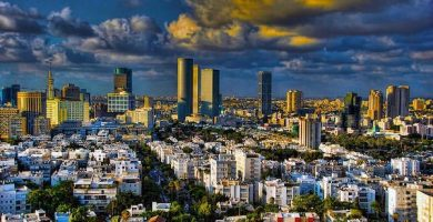 Mapa Turistico Tel Aviv