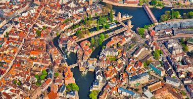 Mapa turístico de Estrasburgo