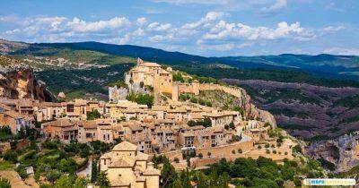Mapa turístico de Aragón