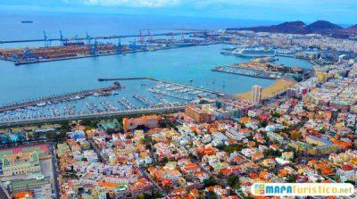 Mapa turístico comunidad autonoma de Canarias