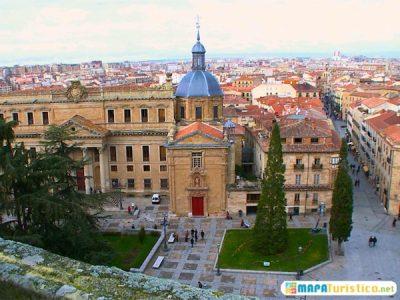 Mapa turístico de Castilla y León
