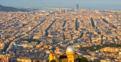 Mapa turístico de Cataluña