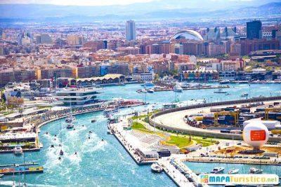 Mapa turístico de Comunidad Valenciana