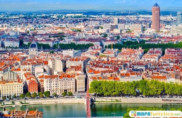 Mapa Turistico De Francia.Mapa Turistico Lyon En 2019