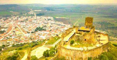 Mapa turistico de Extremadura
