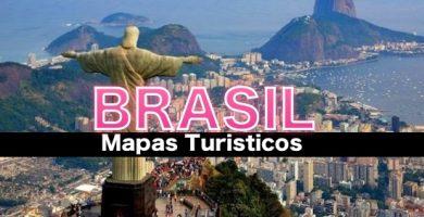 Mapas Turisticos de Brasil