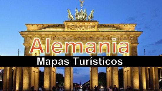 Mapas turisticos de Alemania