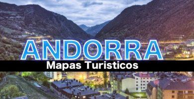 Mapa turistico de Andorra