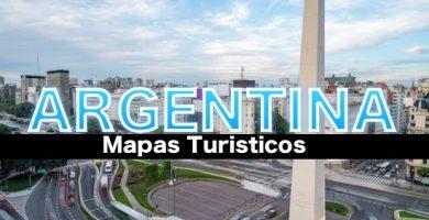 Mapas turisticos de Argentina
