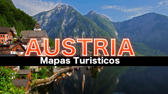 Mapas turisticos de Austria