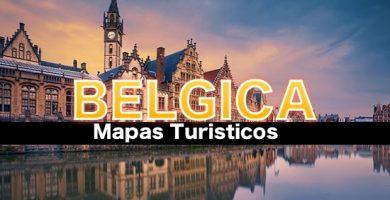 Mapas turisticos de Belgica