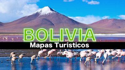 Mapas turisticos de Bolivia