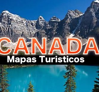 Mapas turisticos de Canada