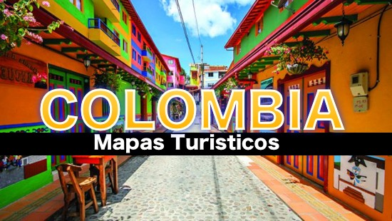 Mapas turisticos de Colombia