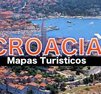 Mapas turisticos de Croacia