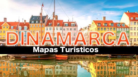 Mapas turisticos de Dinamarca