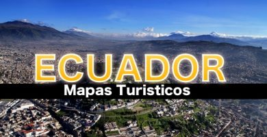 Ma turistico ecuador