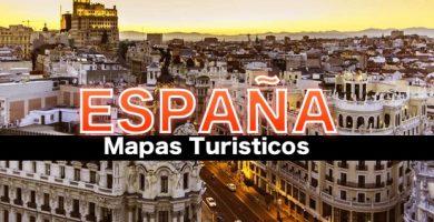 Mapas turisticos de España