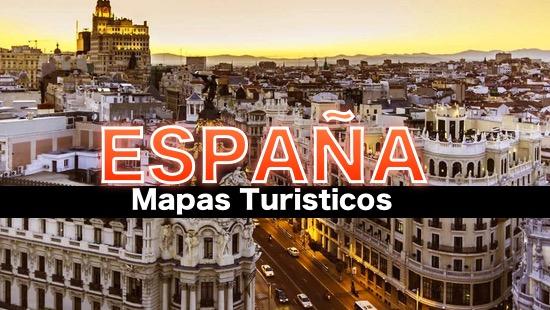 Mapas tur sticos de espa a en 2019 for Destinos turisticos espana