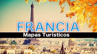 Mapas turisticos de Francia
