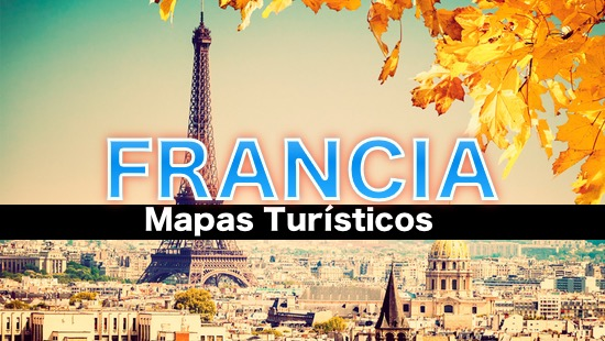 Mapa Turistico De Francia En 2020