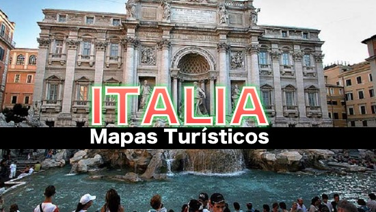 Mapas turísticos de Italia