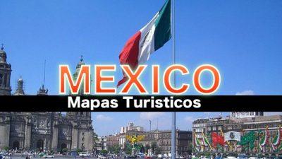 Mapas turisticos de Mexico