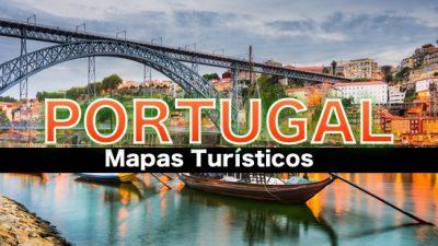 Mapas turisticos de Portugal