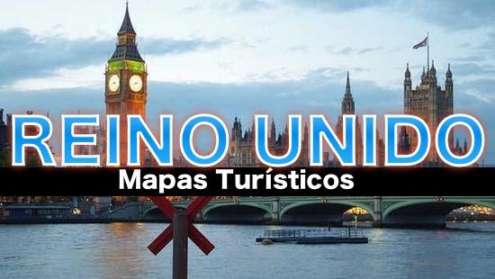 Mapas turisticos de Reino Unido