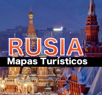 Mapas turisticos de Rusia