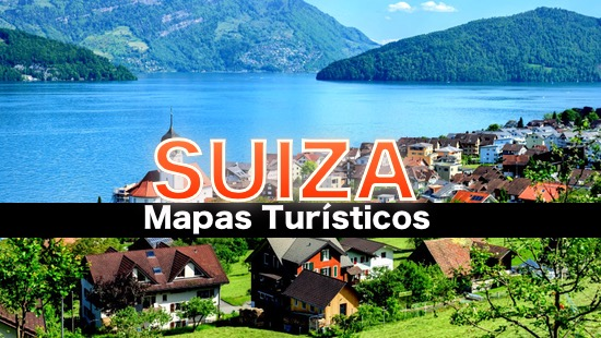 Mapas turisticos de Suiza