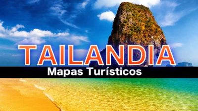 Mapas turísticos de Tailandia
