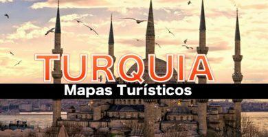 Mapas turisticos de Turquia