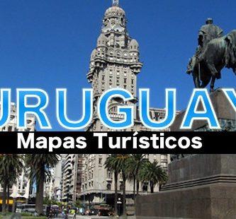 Mapas turísticos de Uruguay