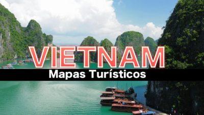 Mapas turisticos de Vietnam