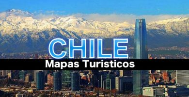 Mapas turisticos de chile