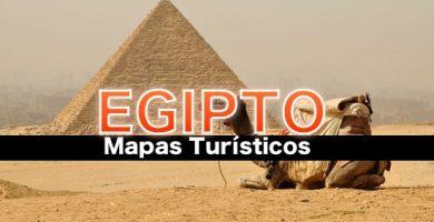 Mapas turisticos de Egipto